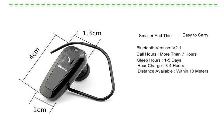 Mini Phone Connection Bluetooth Earphone Headset with High Qualtiy
