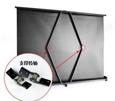 mini projector screen / portable screen projector /40/50