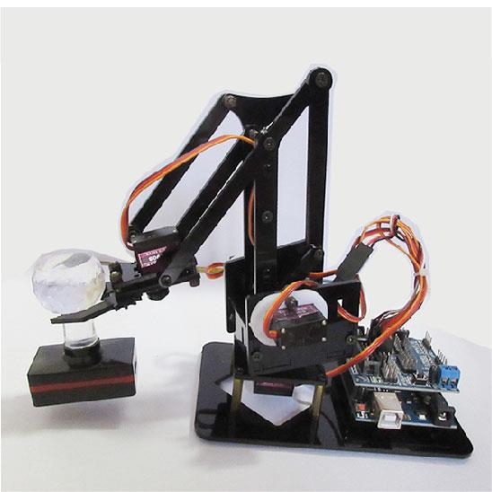 Mini Robotic Arm With Servo Motor