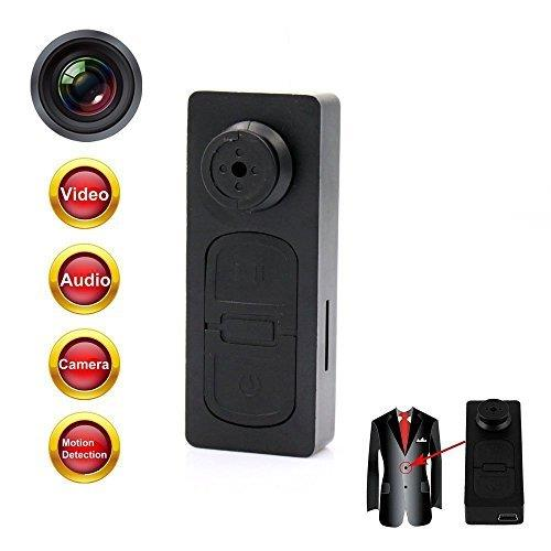 Mini S918 Button Spy Hidden Pinhole Camera