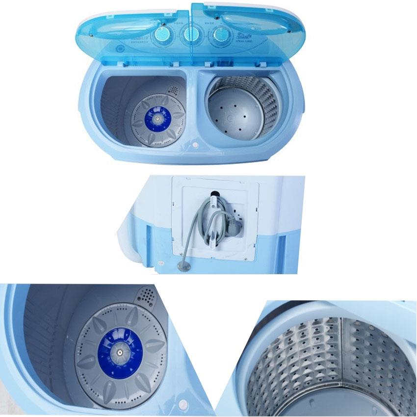 portable compact washer and spinner