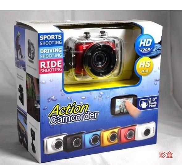 Mini Sport Action Camera 720P HD Underwater Diving Camera Waterproof