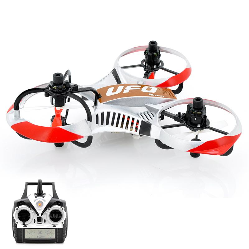 Mini UFO Tricopter - 6-Axis Gyro, 2.4GHz Frequency, 4 Channe