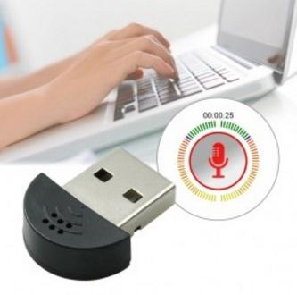 Mini USB Microphone MI-305 Plug & Play Microphones for PC
