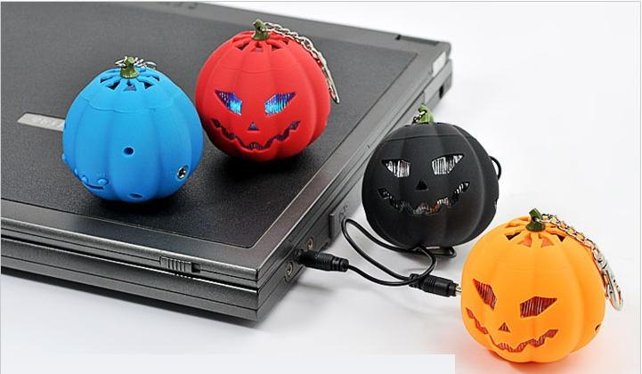 Mini USB Pumpkin TF Card Portable Speaker