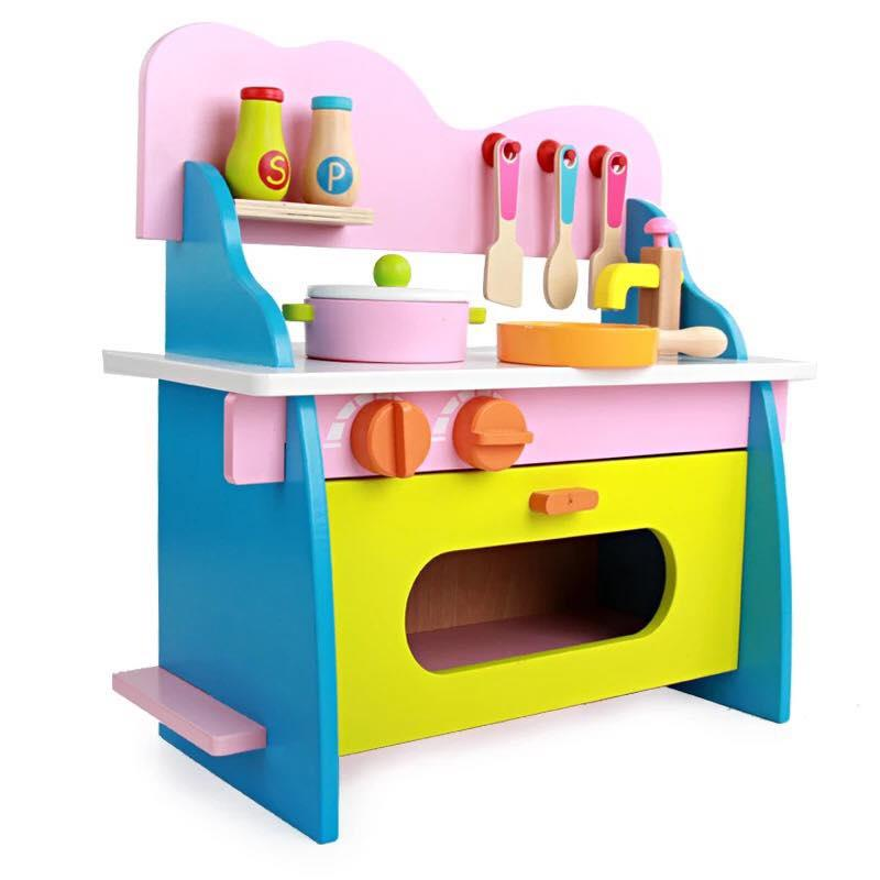 Kitchen design mini wooden colourful kitche end 7172018 1115 am myt kitchen playset ikea - Ikea wooden kitchen playset ...