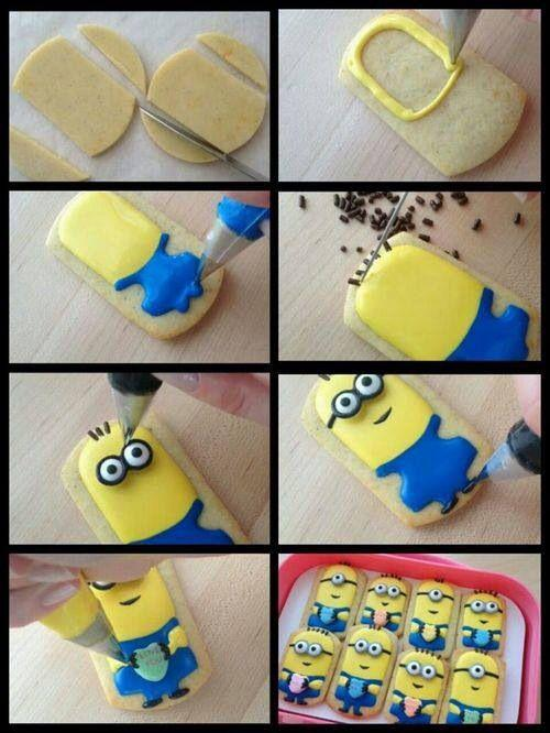 Minion Cartoon Cookies Cutter Cookies Mould