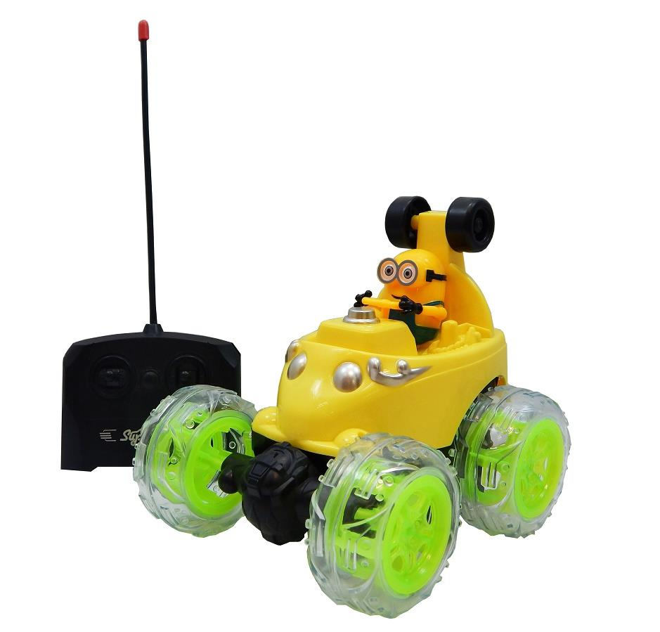 Minion�Speed Stunt Remote Control Car (For Age 8 Years+)