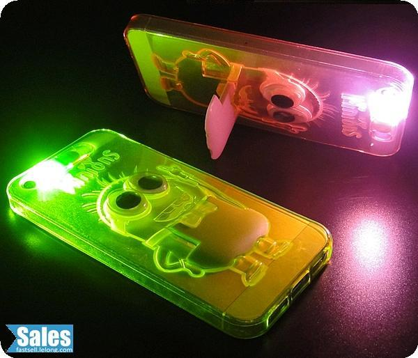Minions Flashing LED Casing Case Cover iPhone iPhone 6 Plus