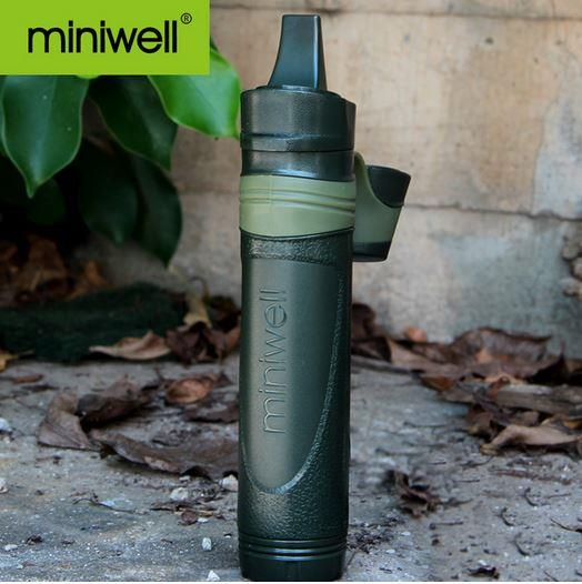 Miniwell Straw Portable Water filter purifier Camping Hiking