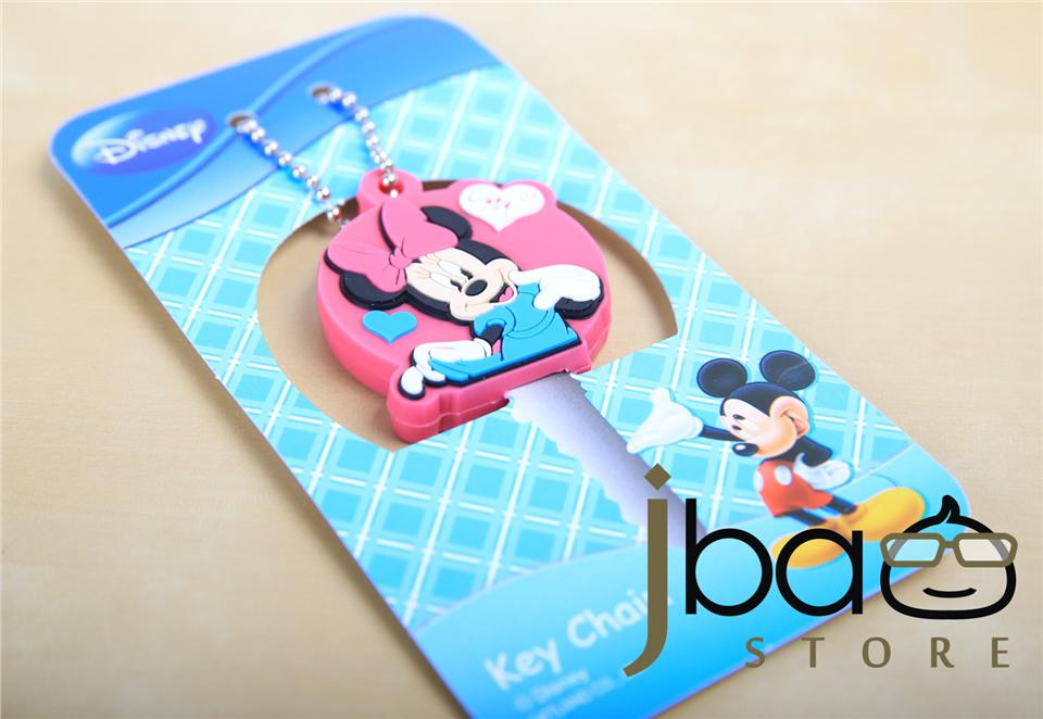Minnie lovely key chain cover cap