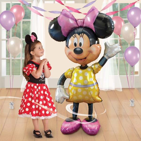 Minnie Mouse Giant Gliding Balloon Anagram FREE SHIPPING