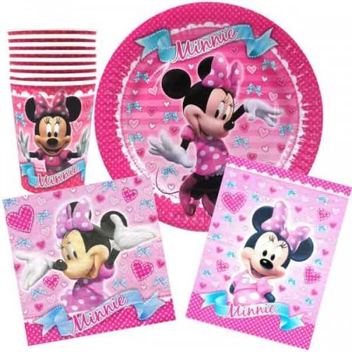 Minnie Mouse Party Pack Savers Kids Birthday Tableware 32pcs