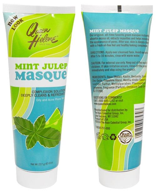 Mint Julep Masque, Oily and Acne Prone Skin, Made in USA (227g)