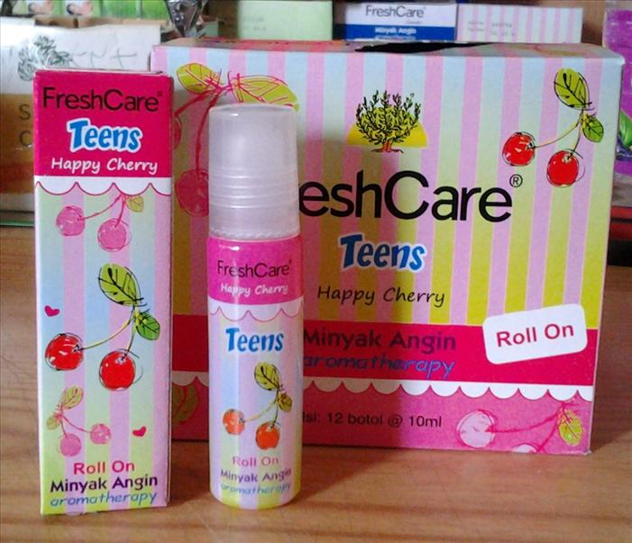 Minyak Angin Aromaterapi FRESH CARE - Aroma Happy Cherry