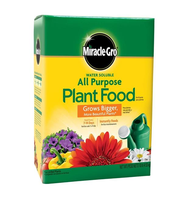 Miracle-Gro All Purpose Plant Food,24-8-16,10-Pound (Plant Fertilizer)