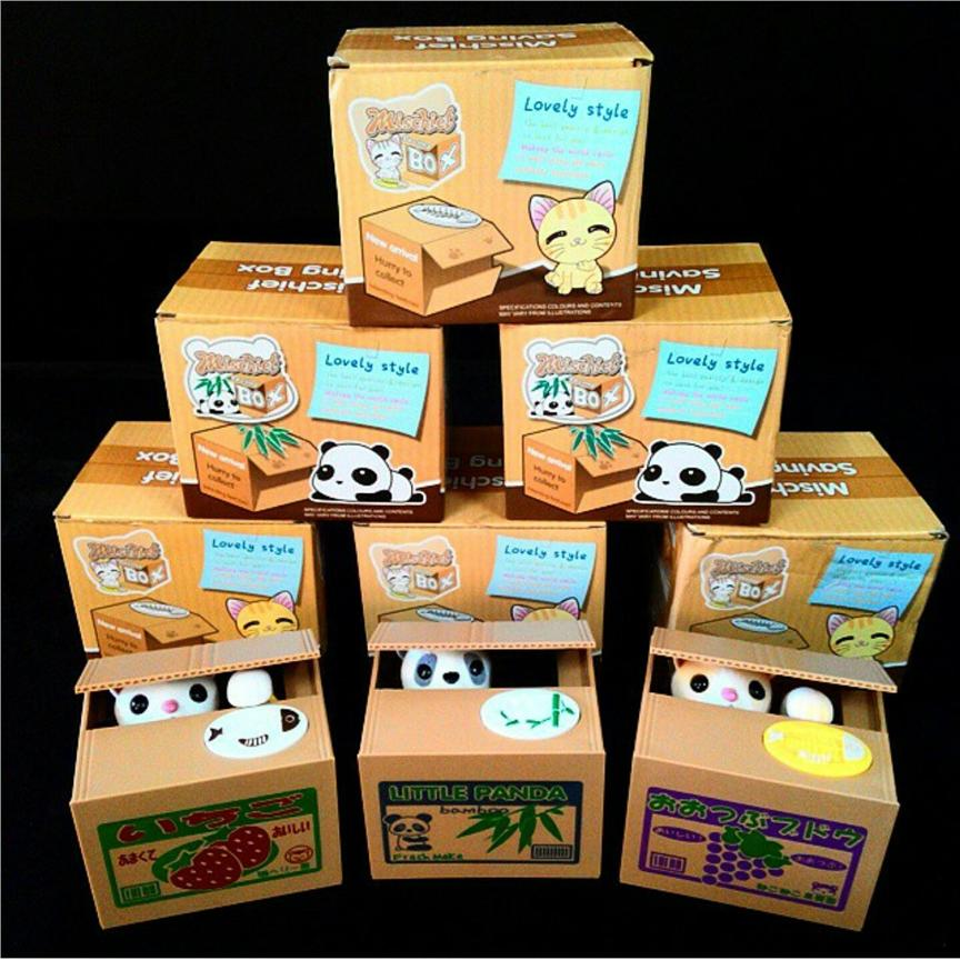 Mischief Coin Bank Tabung Kucing Cat Coin Bank - Four Types
