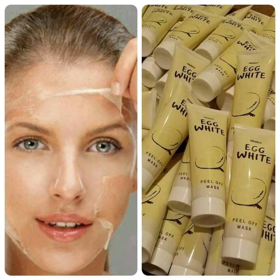 Mistine Egg White Peel Off Mask 85g