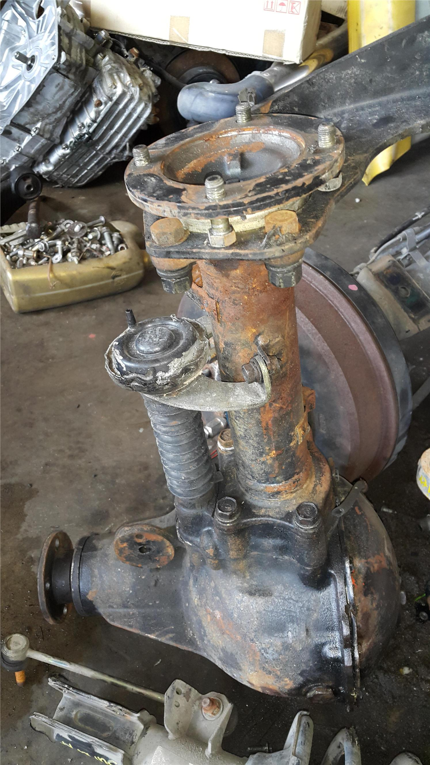 Mit storm  4�4 front axle gear