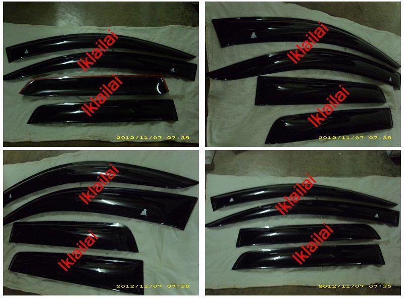 Mitsubishi ASX MOVE Style Door Visor [4pcs/set]