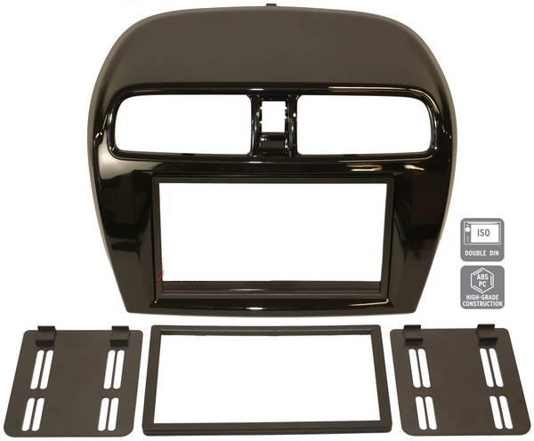 MITSUBISHI MIRAGE 2012-16 WISDOM HOLY Double Din Player Casing Panel