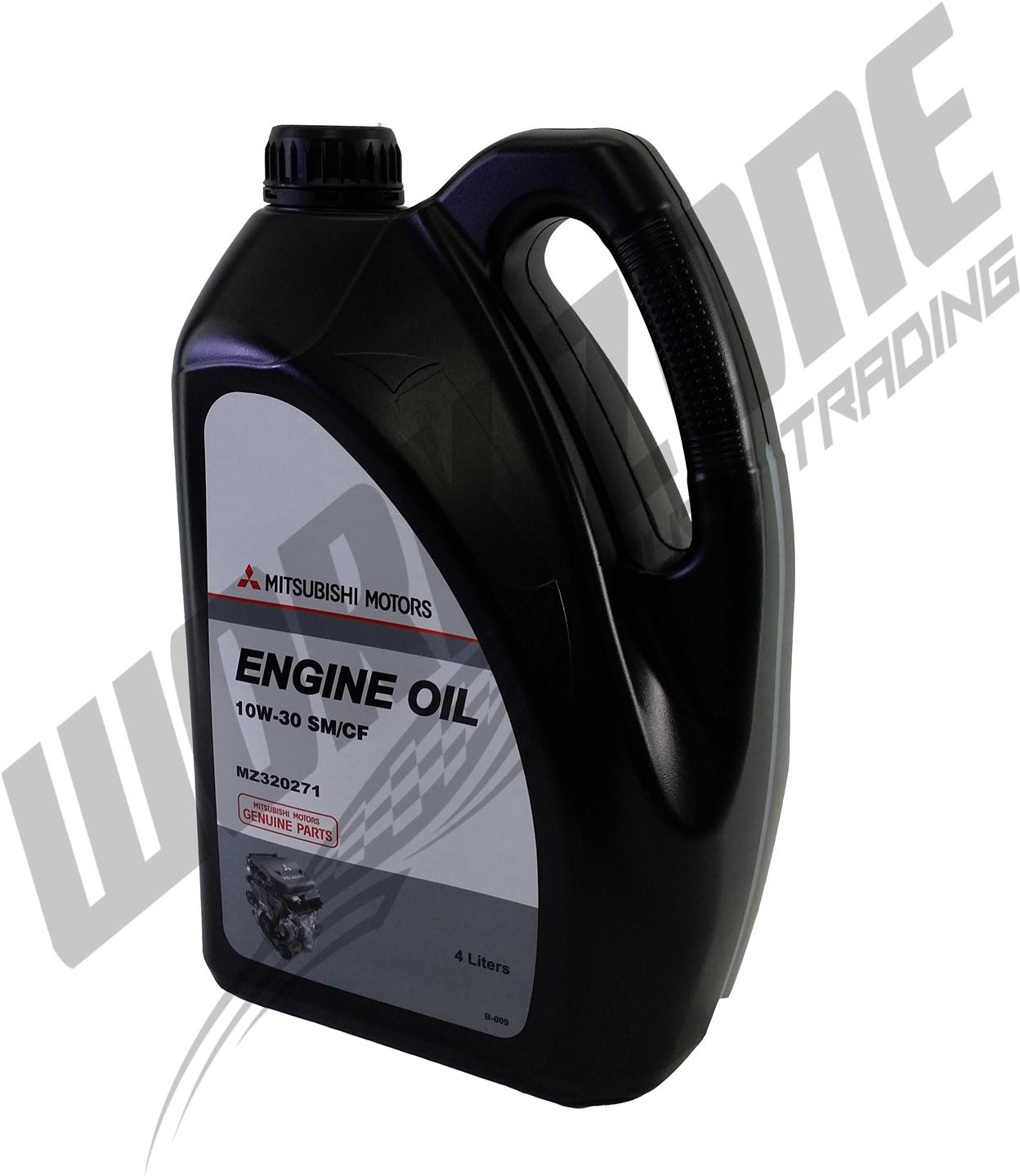 MITSUBISHI MOTORS GENUINE MINERAL 10W30 ENGINE OIL