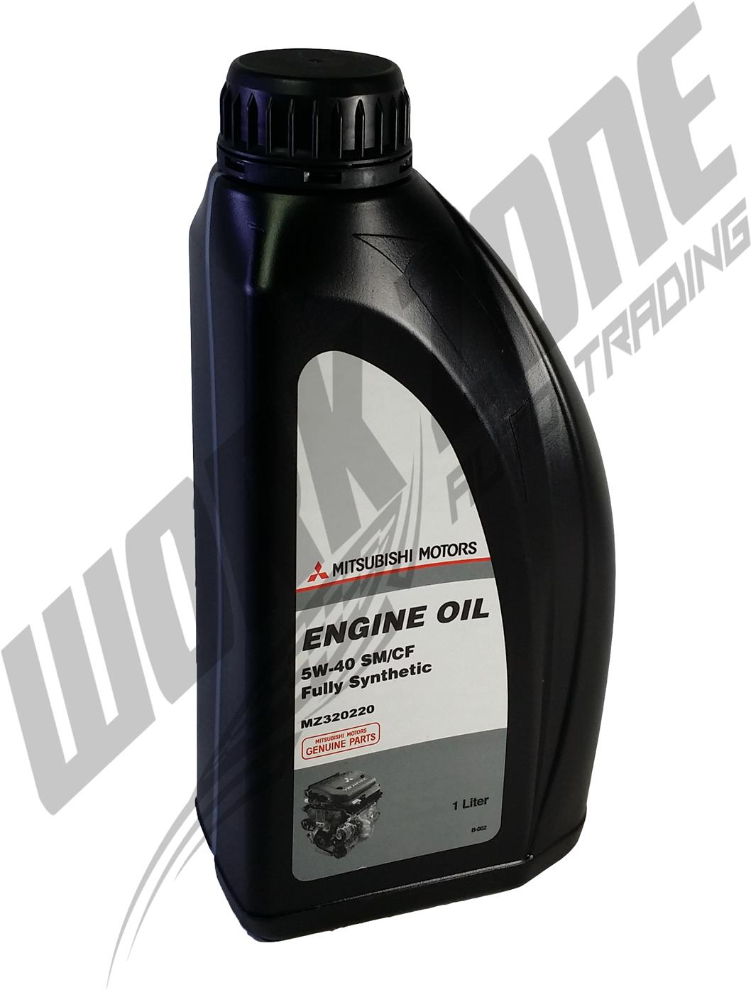 MITSUBISHI MOTORS ORIGINAL FULLY SYNTHETIC 5W40 ENGINE OIL