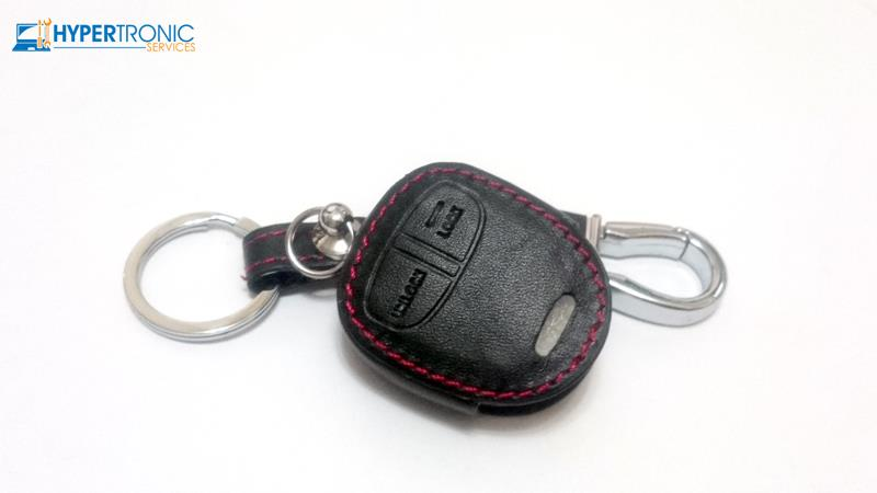 Mitsubishi Remote Key Chain Leather Case Cover - Lancer, ASX, Triton
