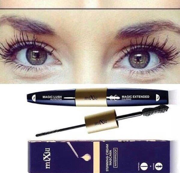 Mixiu Dual Mascara 2 in 1 100% Original Korea waterproof ( Anzalna)