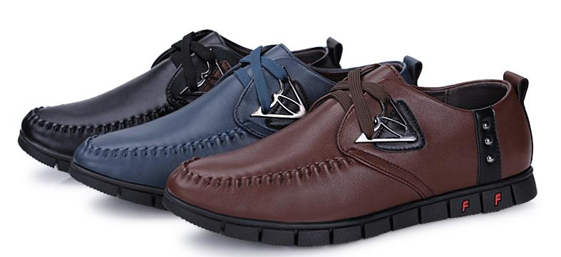 MKS70 Casual shoes, Leather shoes, fashion shoes Korean men shoes
