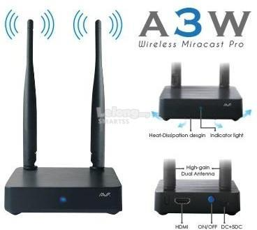 MM. AVF ADAPTER DISPLAY MIRACAST DONGLE WITH ANTENNA A3W *PROMO LAST1
