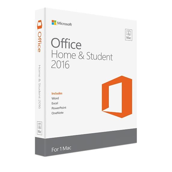 MM MICROSOFT SOFTWARE OFFICE HOME & STUDENT 2016 RETAIL FOR PC