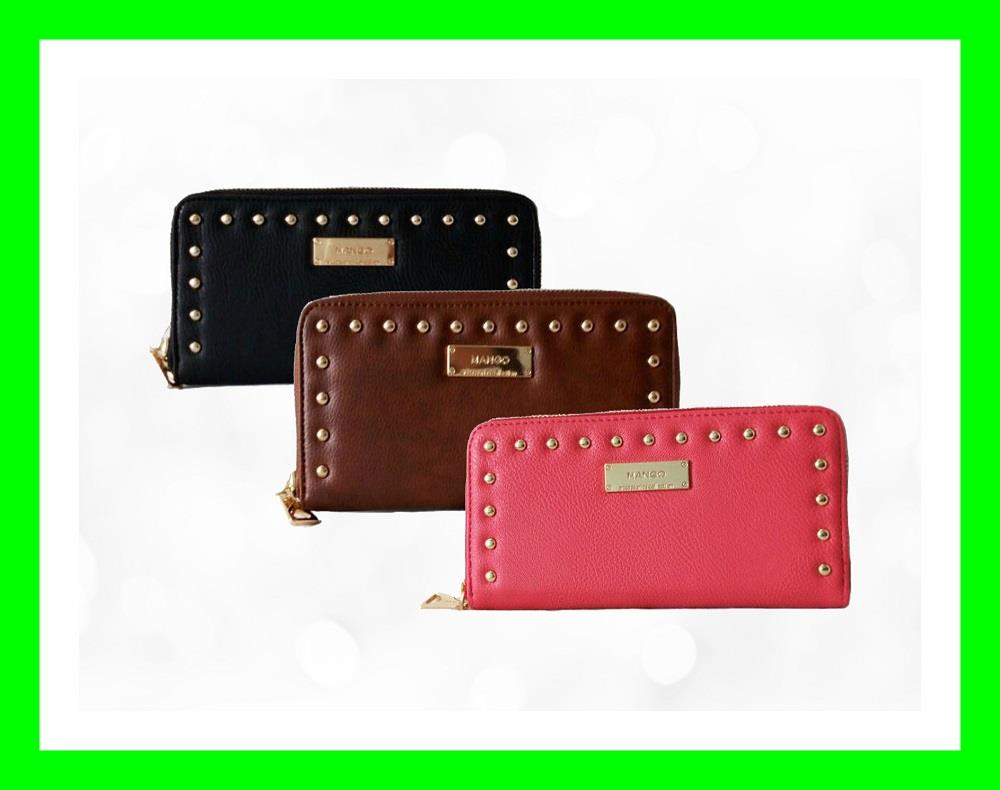 MNG MANGO WOMEN RIVERT SAFFIANO WALLET PURSE BAG LADY COIN HANDBAGS