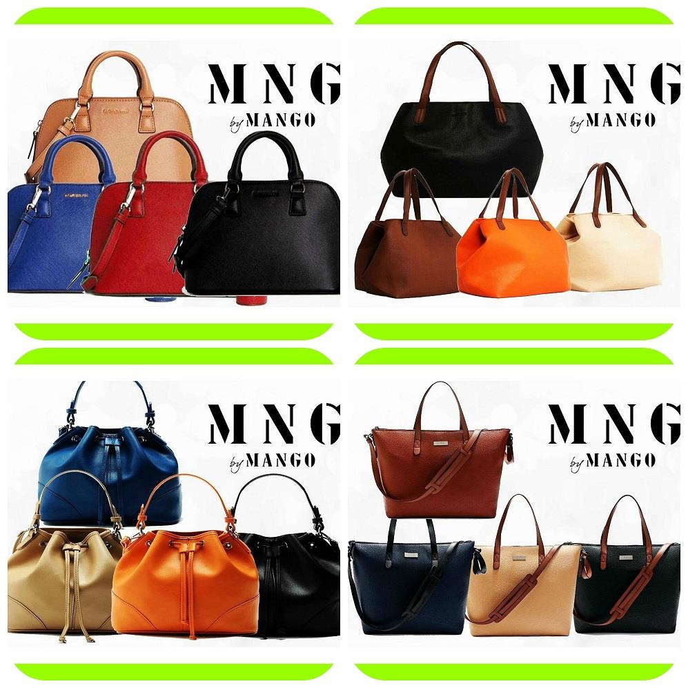 MNG MANGO WOMEN SAFFIANO BUCKET BASIC LEATHER HANDBAG SHOULDER BAG