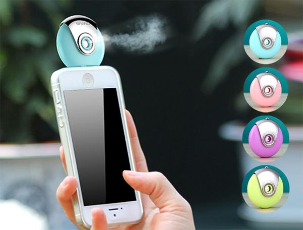 Mobile Moisture Humidifier Spray For Android Micro-USB Smartphones