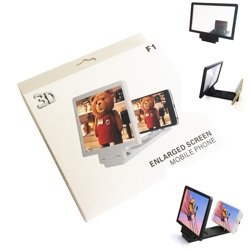 Mobile Phone 3D Video Magnifier Enlarged Screen F1