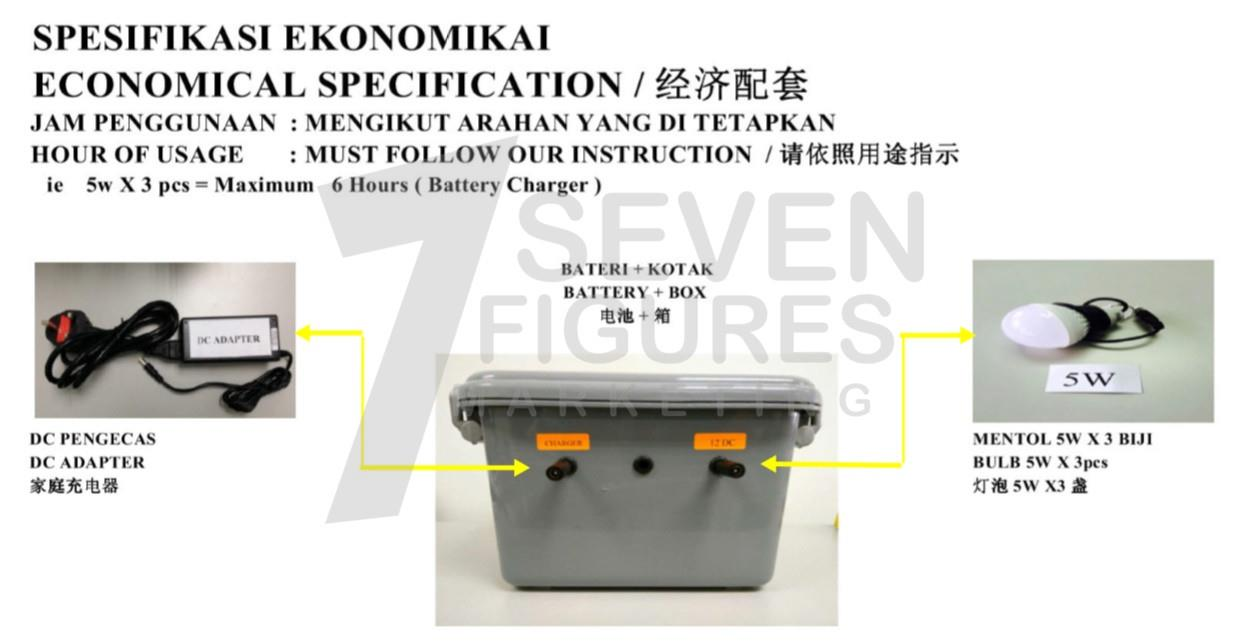 Moblie Lighting System Economic Package 3
