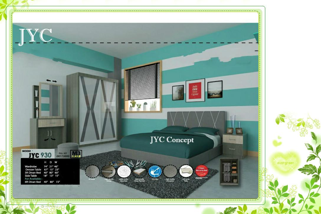 Model JYC 930. 4 Feet Bedroom