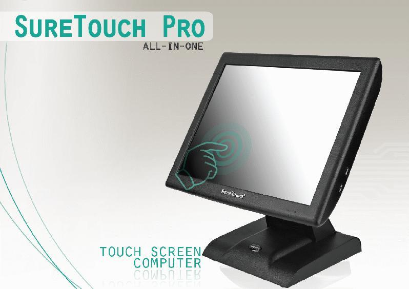 Model SureTouch Pro STP15 Main Technical Parameters Display Area 15""