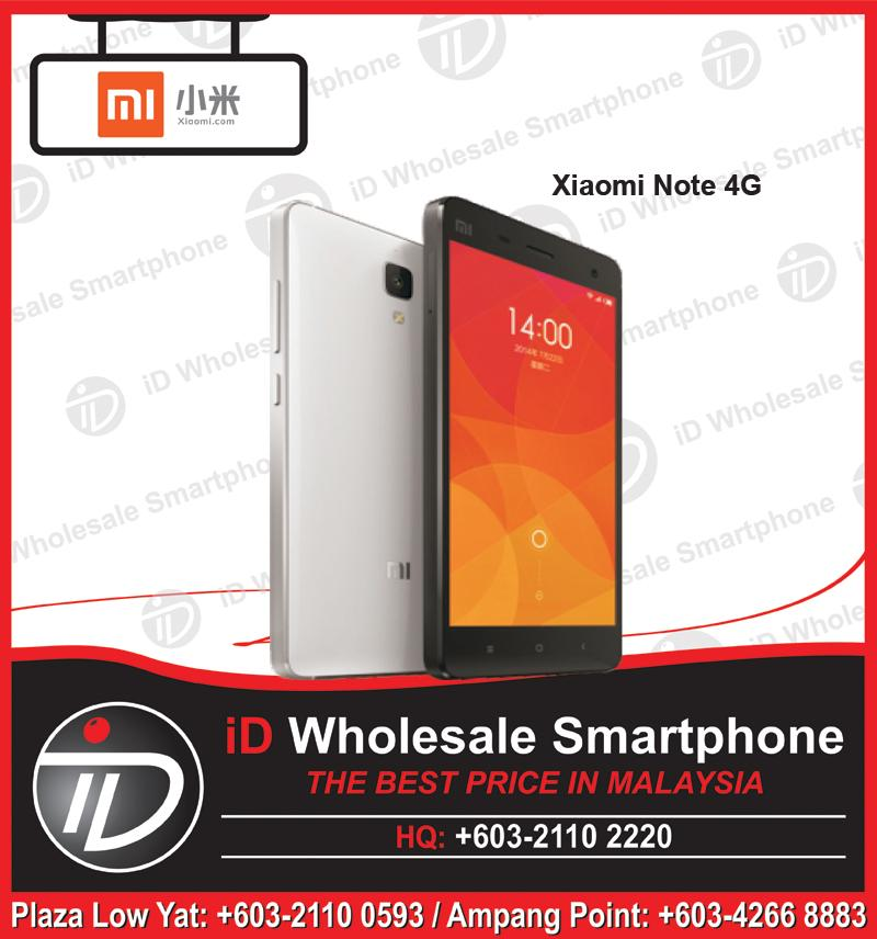 "NEW Model Xiaomi Mi Note 4G, 5.7"" Screen, 2.5GHz 3GB, 16/64G"