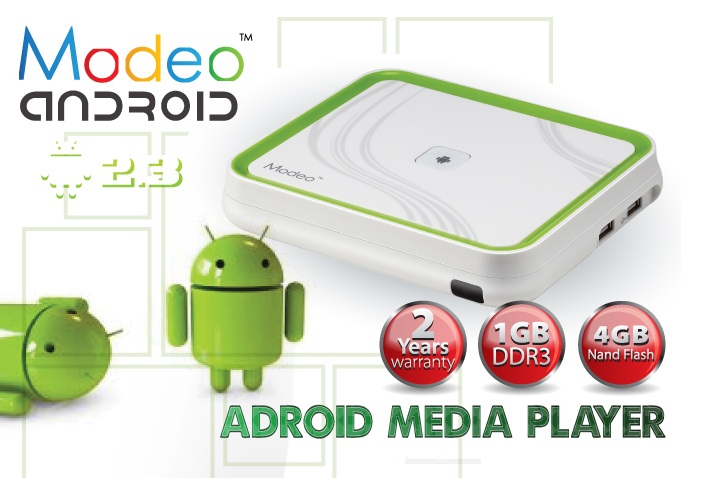 MODEO FULL HD MULTIMEDIA PLAYER (MR91A) FREE AIR MOUSE