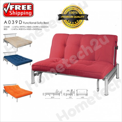 Modern foldable fabric sofa bed que end 12 11 2017 626 pm for Sofa bed free delivery