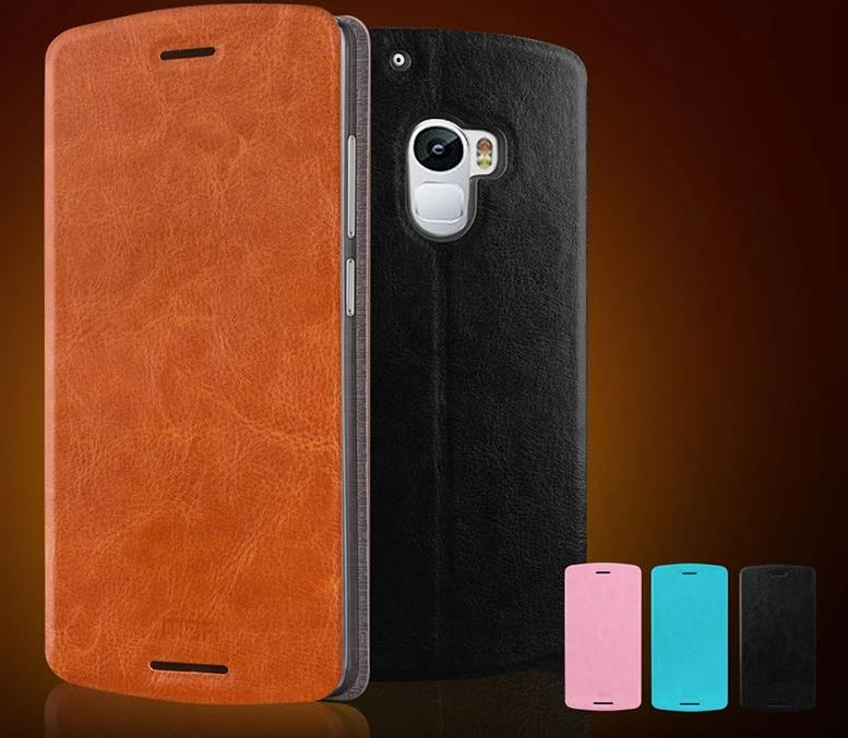 Mofi Lenovo Vibe X3 Lite K4 Note Flip Leather Case Cover Casing + Gift