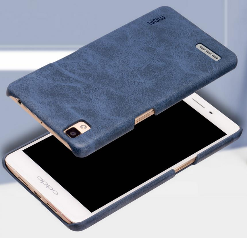 Mofi OPPO F1 A35 Plus R9 Leather Back Case Cover Casing + Gift