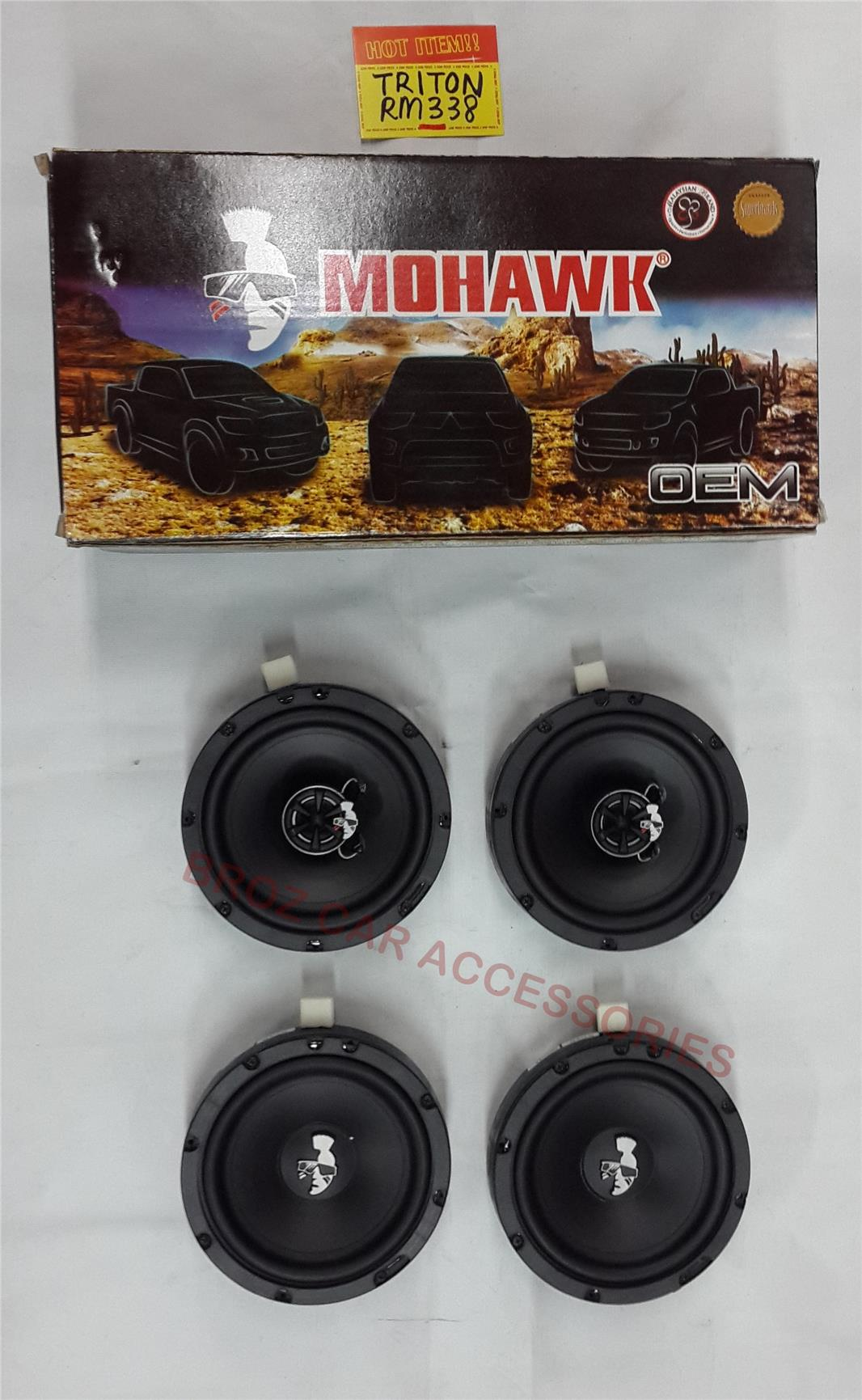 MOHAWK SPEAKER FOR TRITON 4PCS