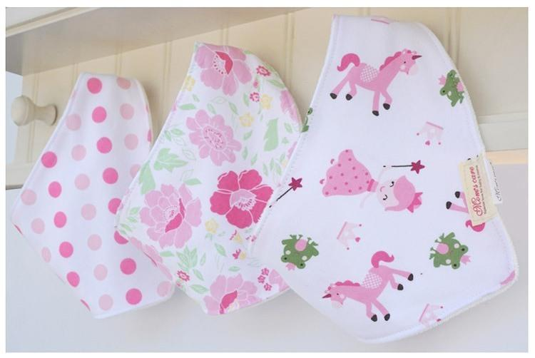 Mom's Care Bibs 3pcs(Princess)