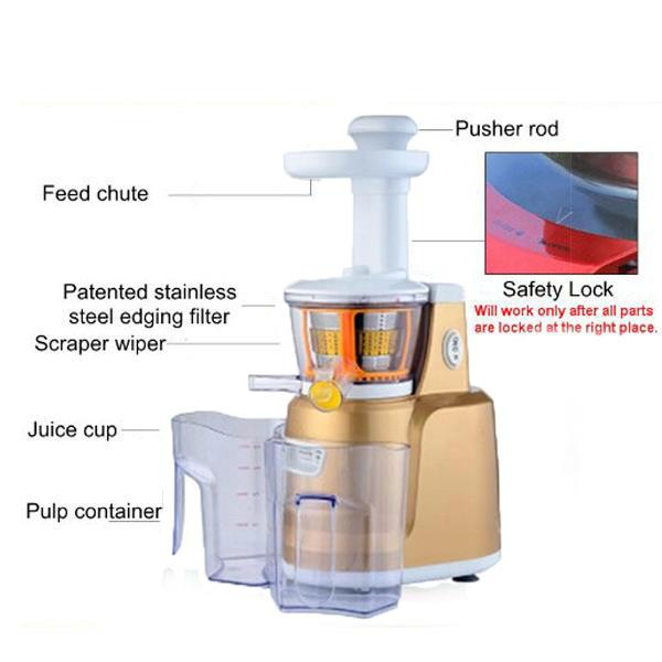 Slow Juicer Mondial Sj 01 : Mondial Slow Juicer (Gold Co (end 10/14/2015 4:15 PM - MYT )