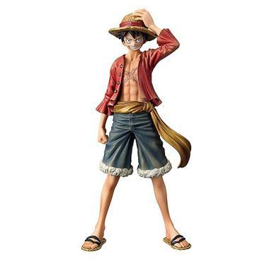 Monkey D Luffy Anime One PieceThe Grandline Men Pre-Painted Figures