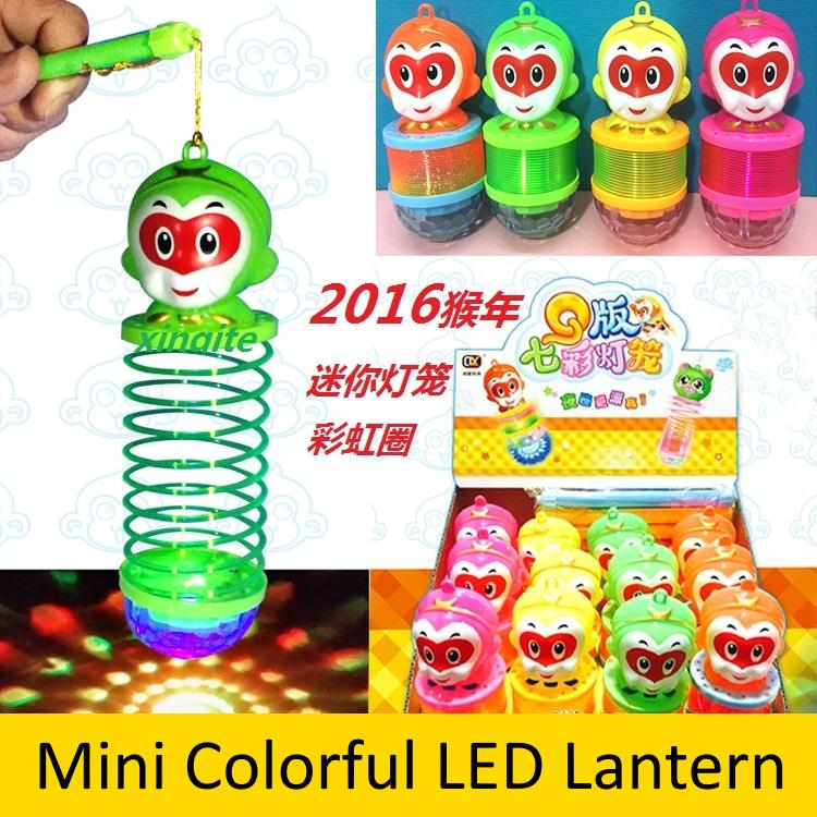 Monkey Shaped Changing Color Mini LED Lantern