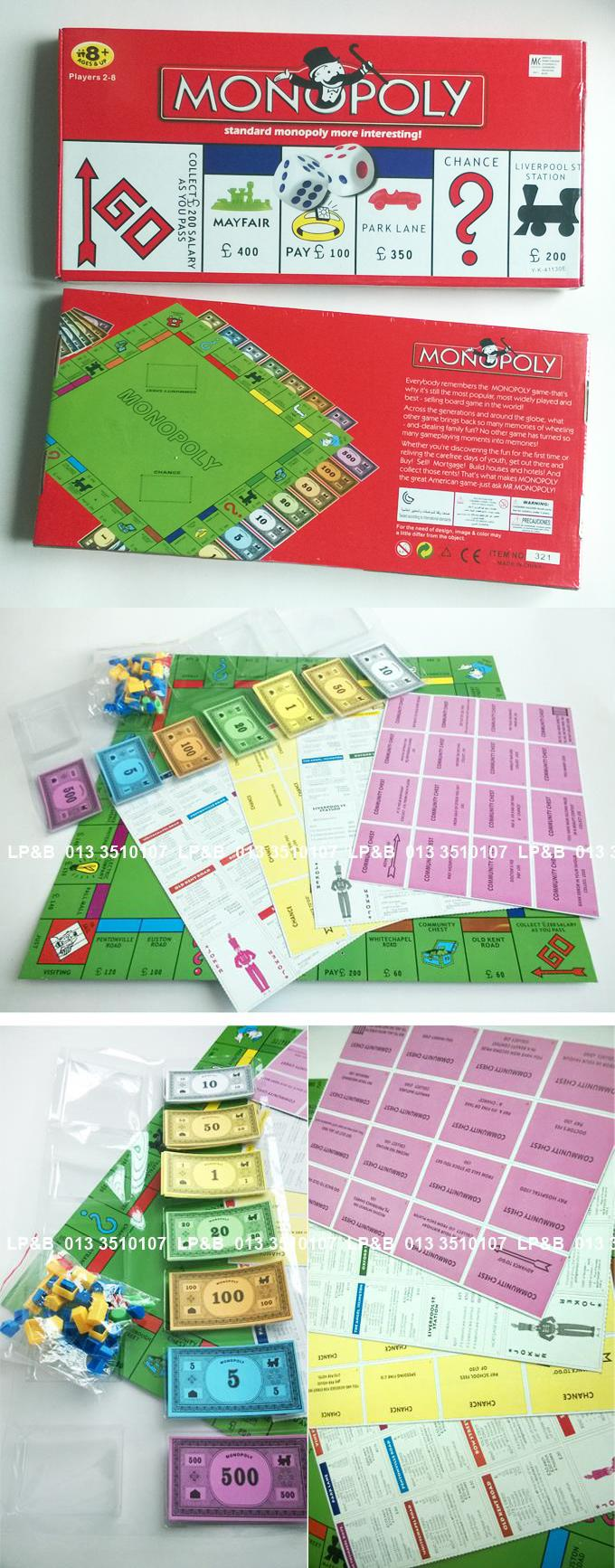 Monopoly Board Games for children and adults